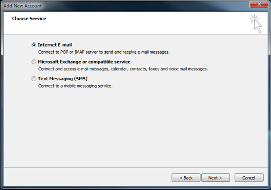 Set up AhelioTech hosted e-mail in Outlook 2010-4
