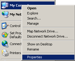 How to get my full computer name in Windows XP-1